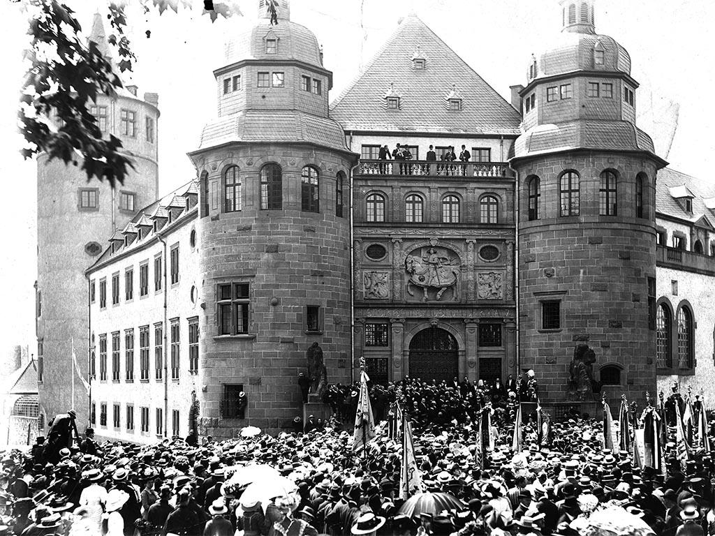 1910 Einweihung Museum