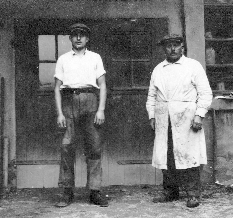 1927 OttoG+GeorgG sen Beschnitt