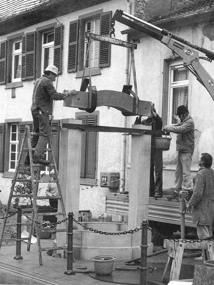 1980 Brunnen Herdstraße 1