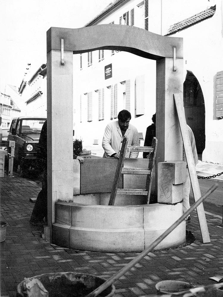 1980 Brunnen Herdstraße