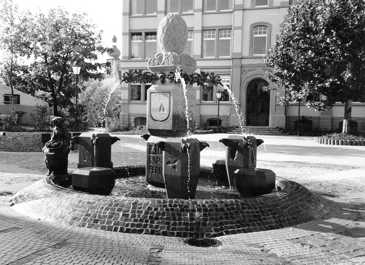 1985 Brunnen Sandhausen